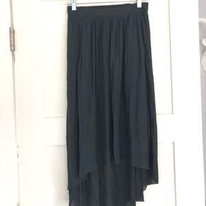 Aritzia high low skirt (Talula)